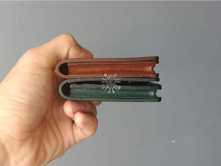 Mẫu rập ví đựng thẻ 05- Cạnh hông
